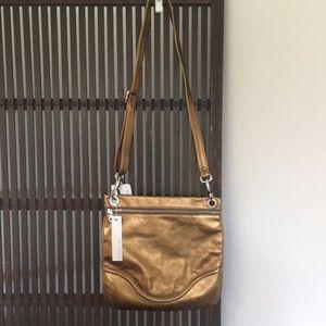 Christopher Kon beautiful gold leather bag